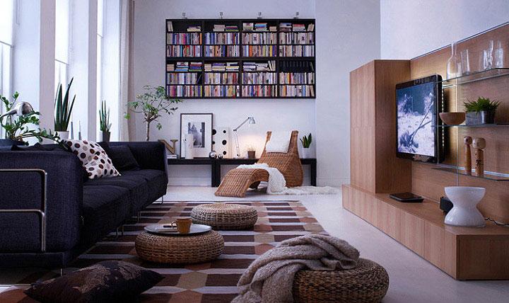 black-sofa-ethno-details