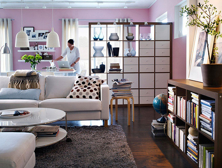light-pink-interior-ikea