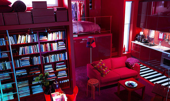 red-color-interior