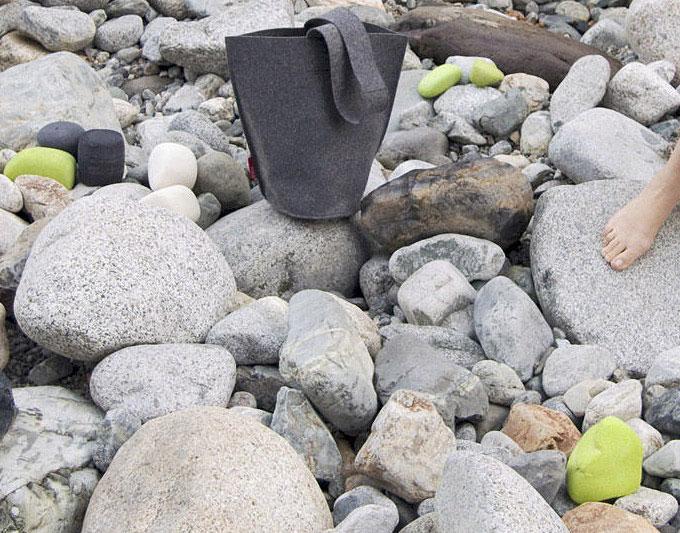 black-felt-bag-stones