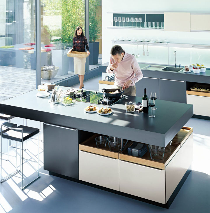 gray-contemporary-kitchen-design