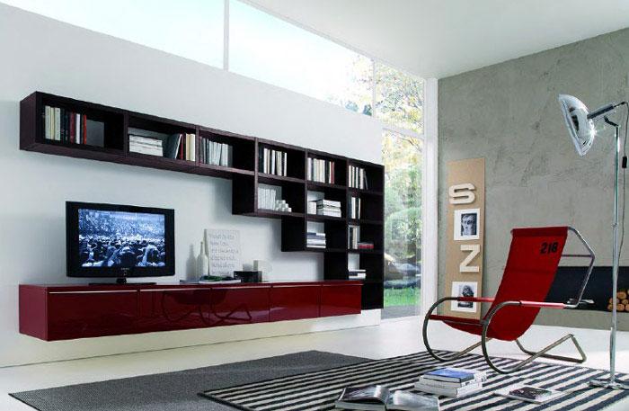 system-flat TV
