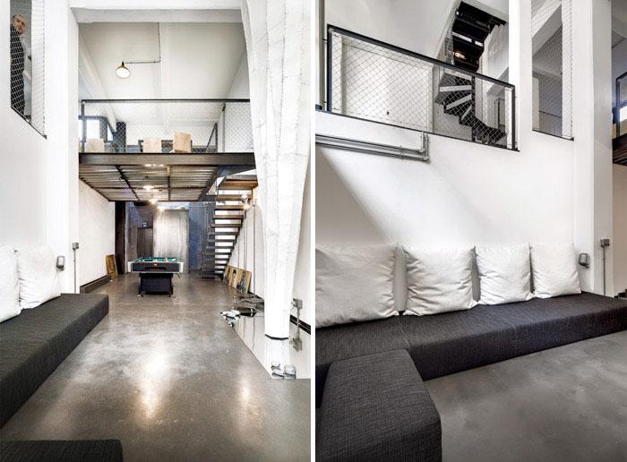 beton loft interior