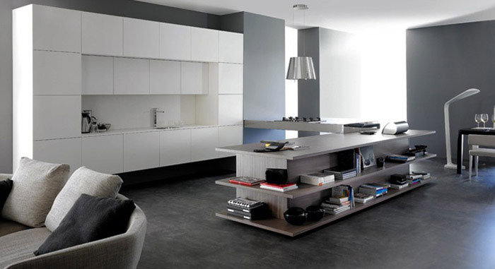 glossy-white-kitchen