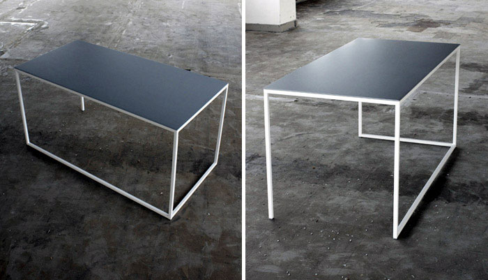 table-steel-aluminium