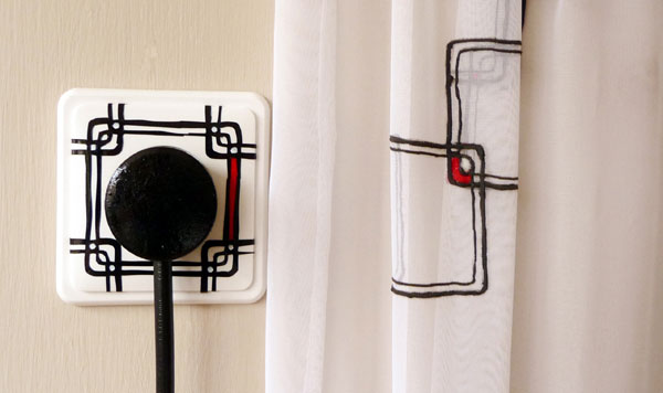 wall socket interior design