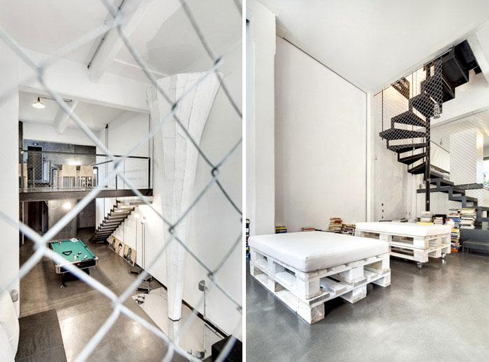 whit loft interior