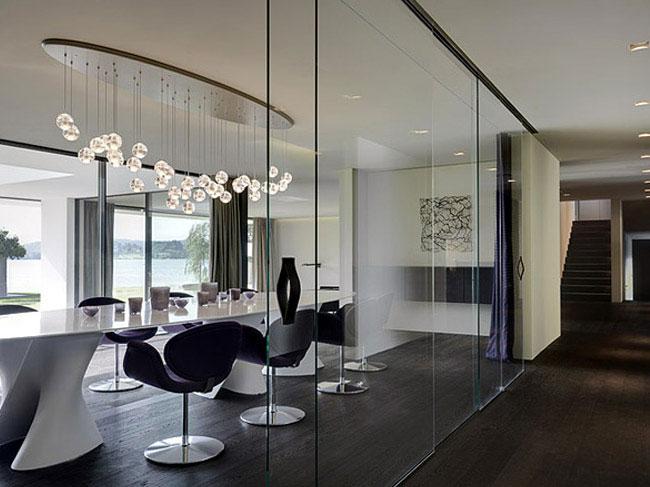 eclectic minimalist interior