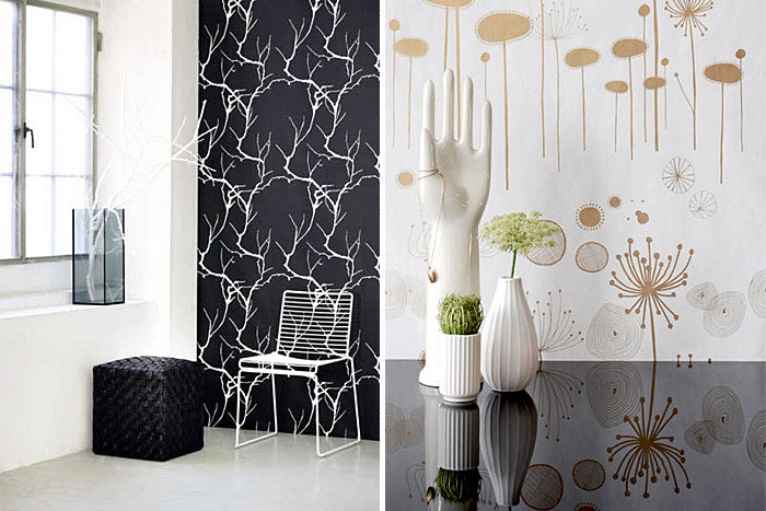 fairyflower wallcovering