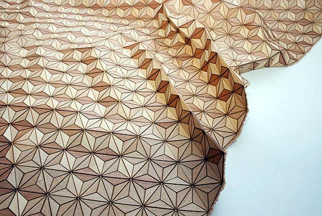 flexibility wooden textile