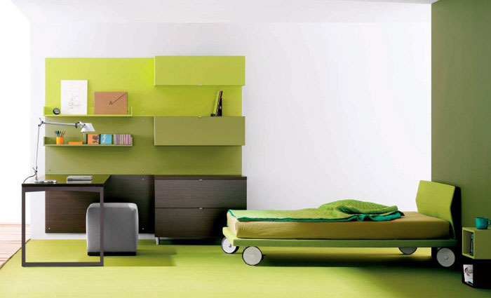fresh children bedroom