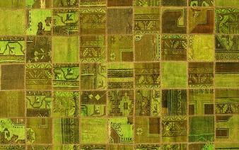 patchwork made carpet 338x212