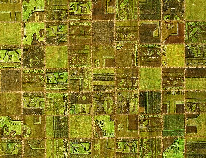 patchwork made carpet