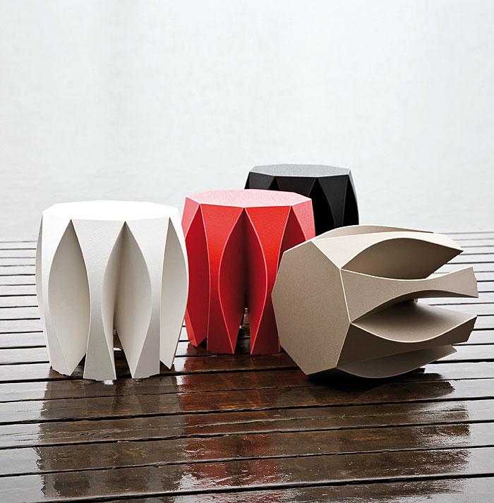 stool made single piece