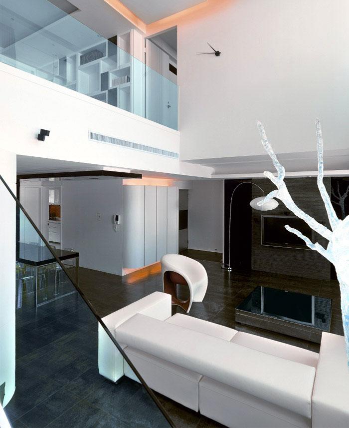 two levels apartmen