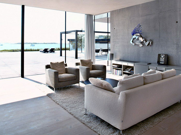 artistic living room