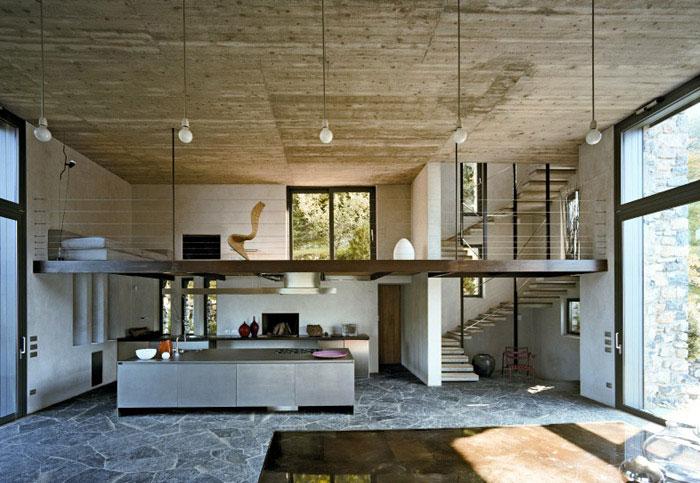 plan stone house