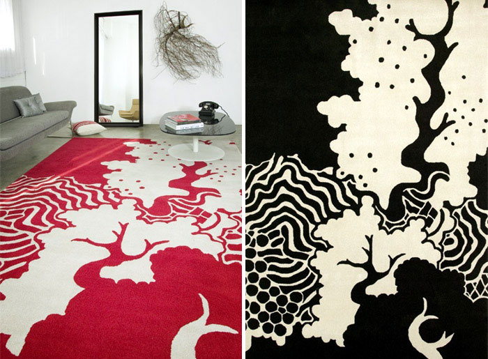 stylish rug