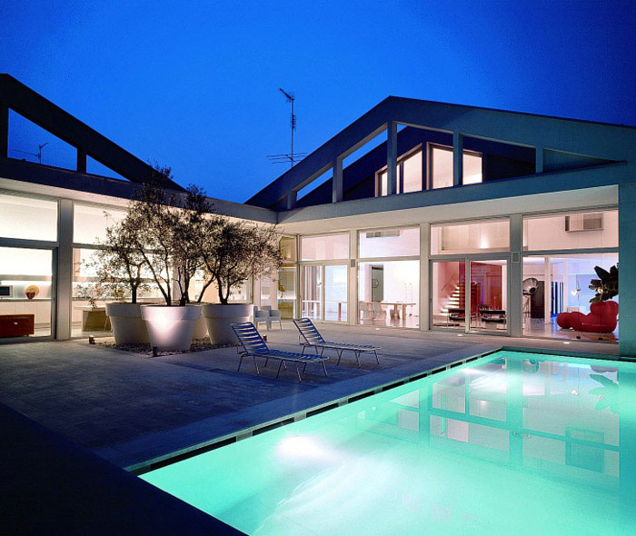 transformed residence