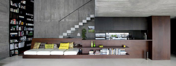 big shelves sofas