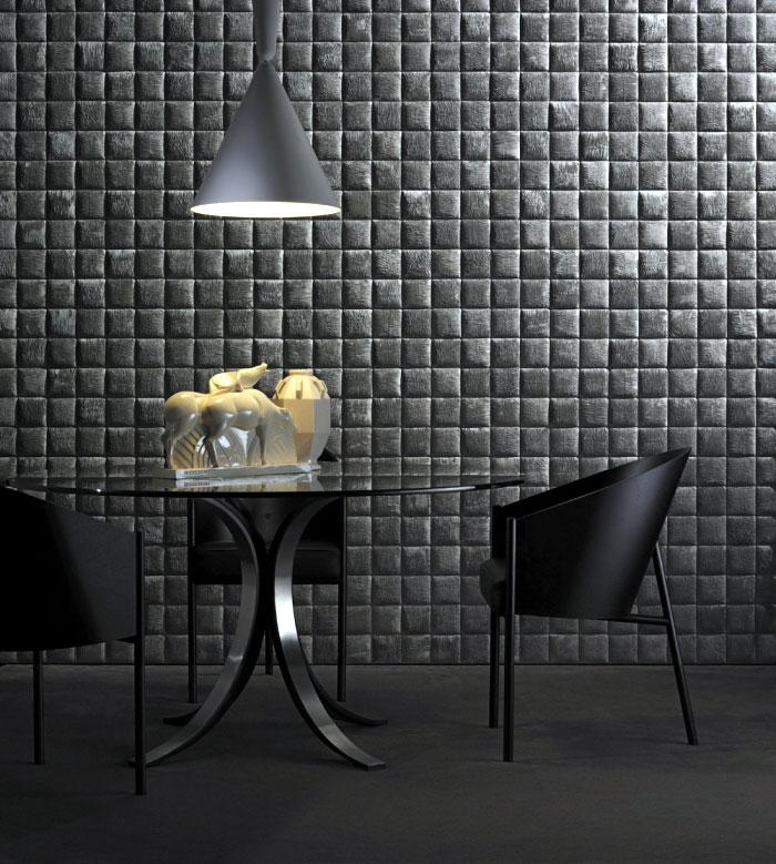 geometries patterns wallcoverings