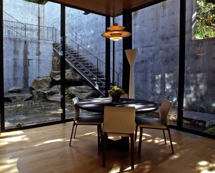 modern residence diningroom