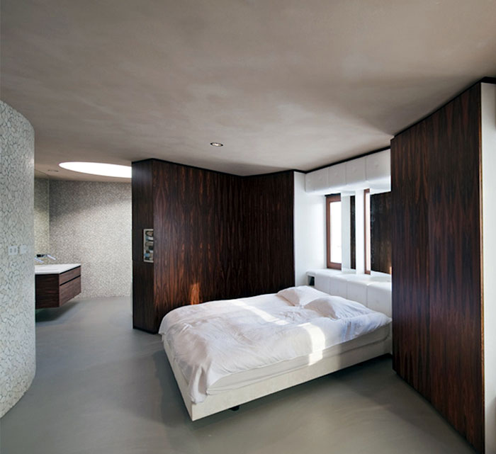 unique bedroom interior