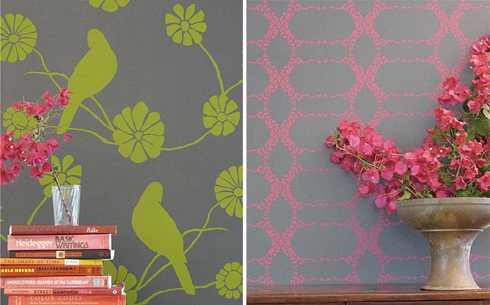 elizabeth contemporary wallpaper