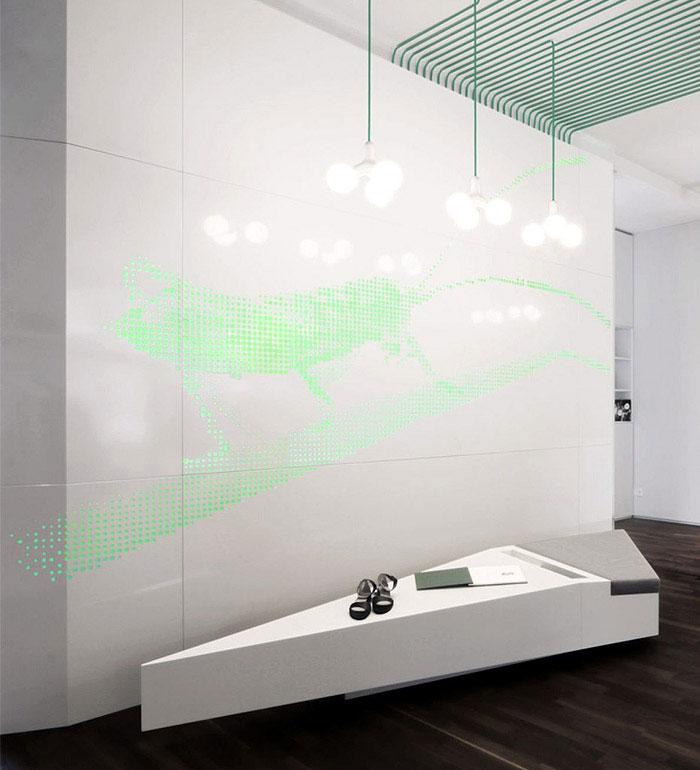 green light installation