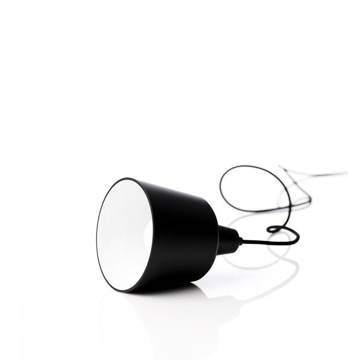 mono lamp black sleeping