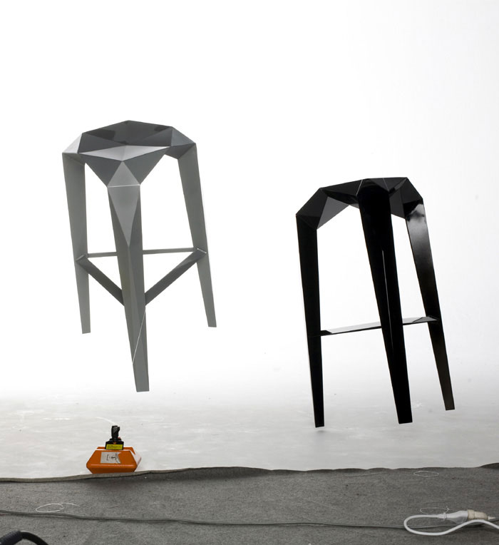 anthropomorphic structure stool
