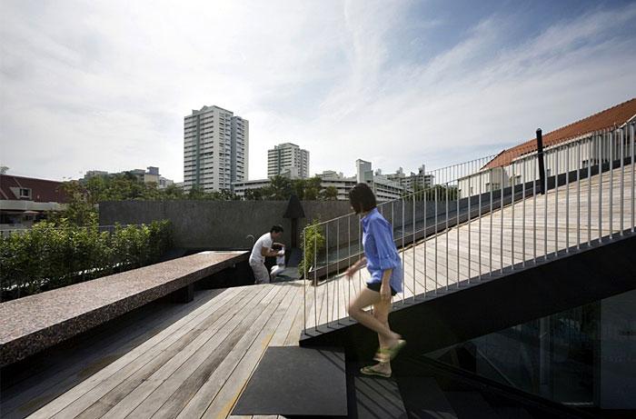 garden roof space