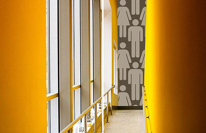 modern functional wallpaper