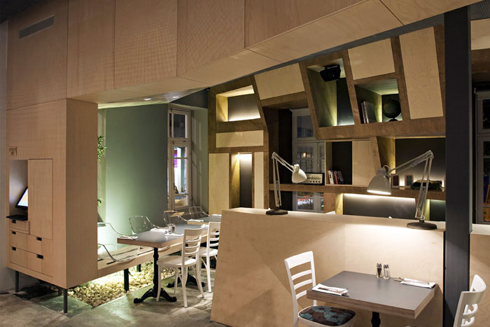 modern restorant interior