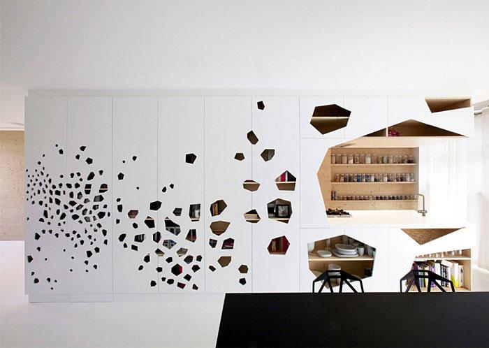 laser cut panels diningroom