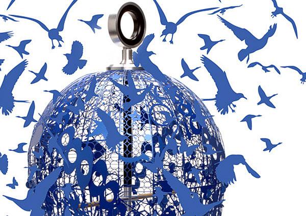 seraphine birdcage object