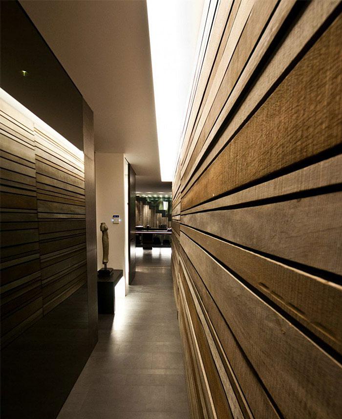 wood plan wall design casa g