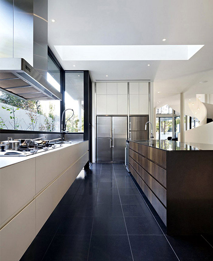 luxurious contemporary kitchen