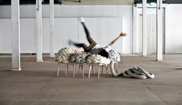 cloud textile object