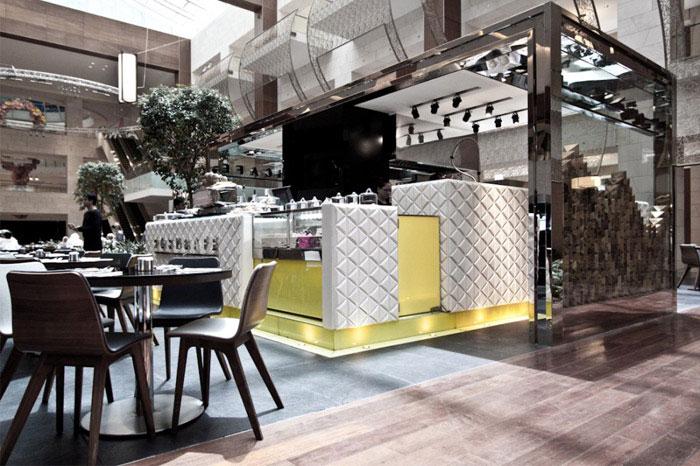 interior decorating modern cafe