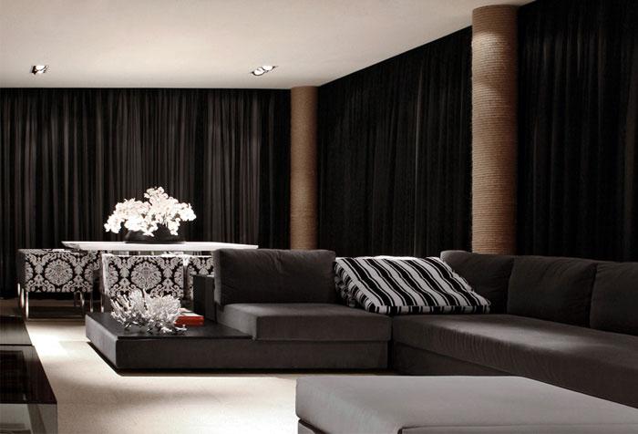 modern interior livingroom