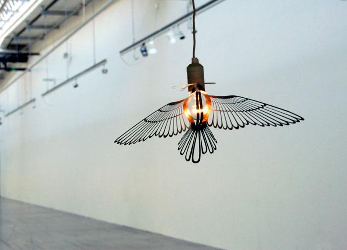 product design hommin birdlight