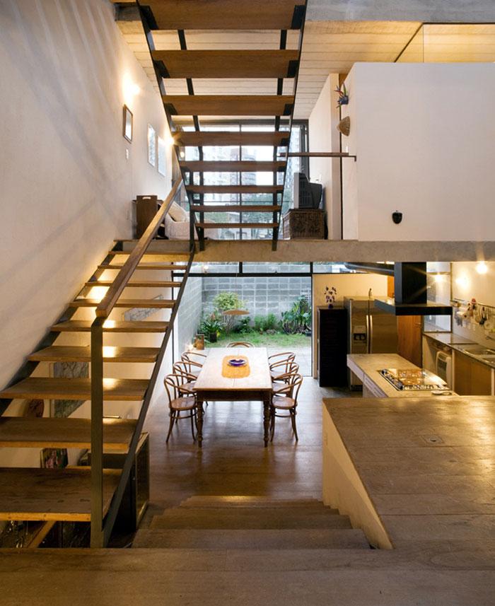 stylish house open plan