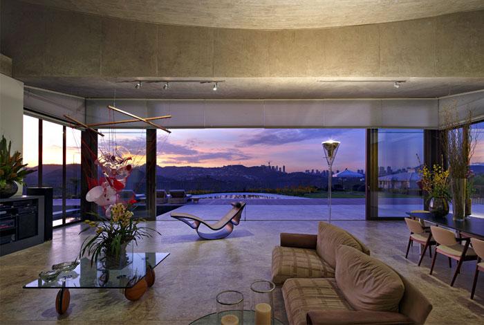 brazilian residence interior