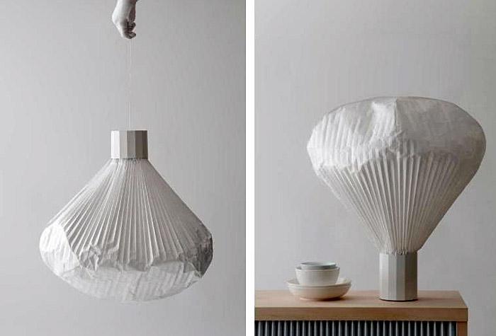 design paper lamp inga sempé