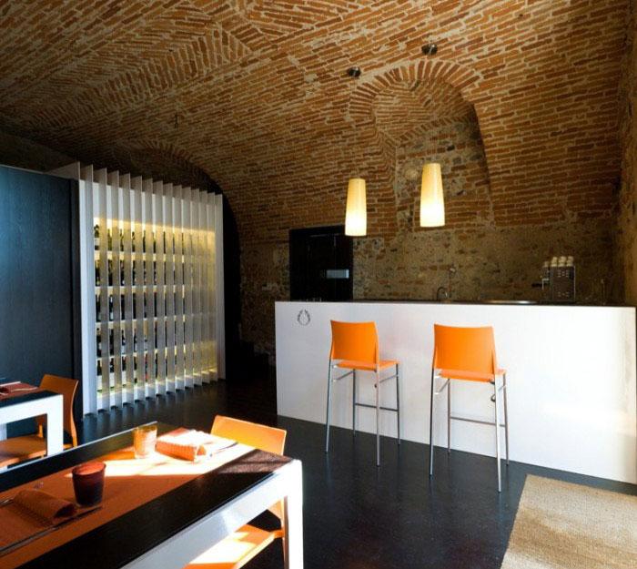 interior santa marta restaurant