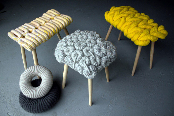knitting furniture design