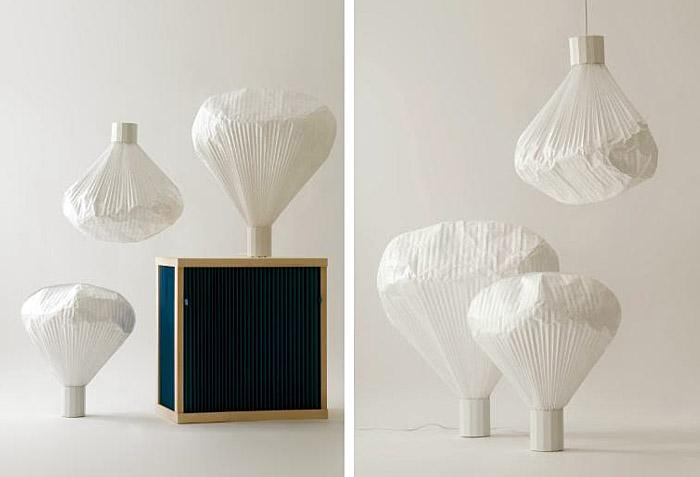 produkt design paper lamp inga sempé