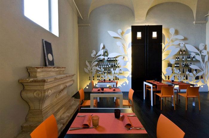 santa marta restaurant decration