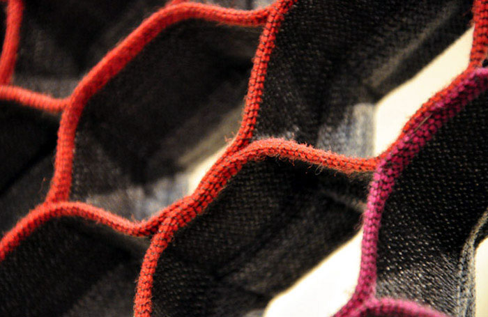 self structured textile furniture